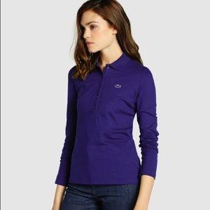 Lacoste long sleeves polo shirt
